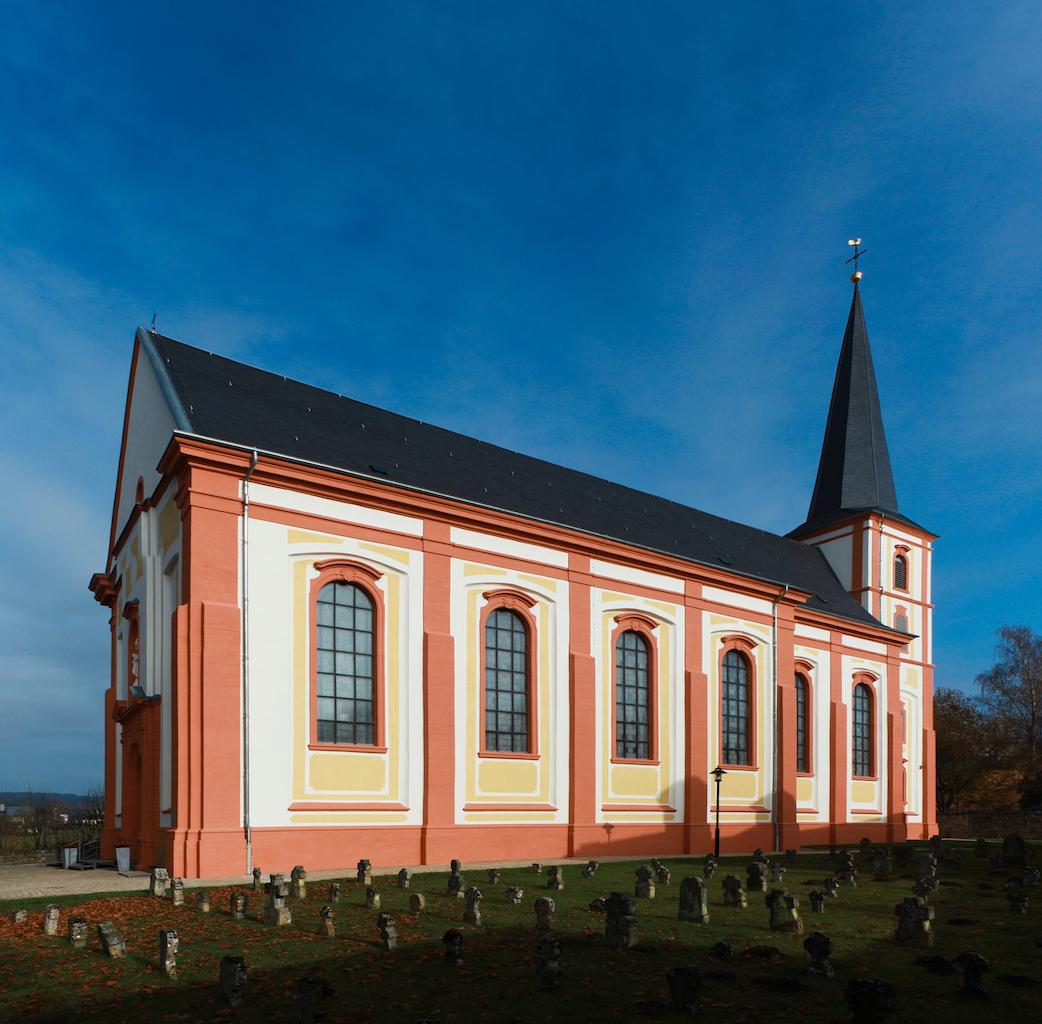 Restauration historique de l'église paroissiale de Junglinster