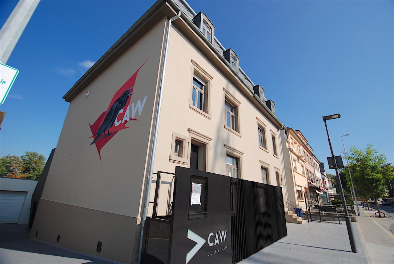 Extension et transformation de la galerie CAW de Walferdange
