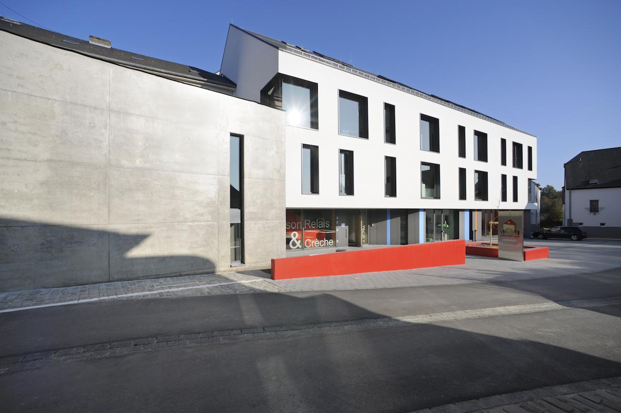 """Maison relais et crèche """"A Schmatts"""" à Troisvierges"""
