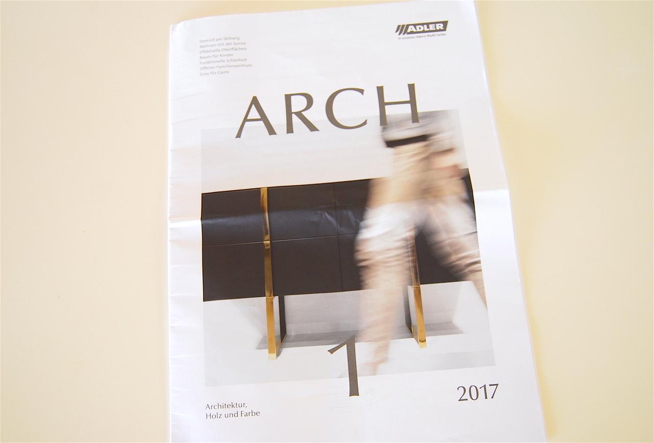 Brochure de l'entreprise de peinture Adler-Lacke (2017)