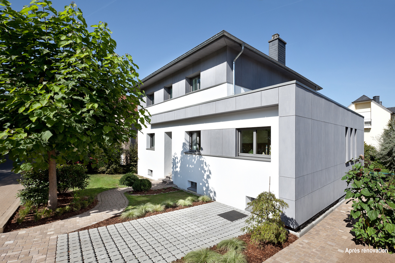 Extension et rénovation d'une maison à Echternach